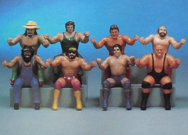 #FlashbackFriday Funday – Do You Remember WWF Thumb Wrestlers?