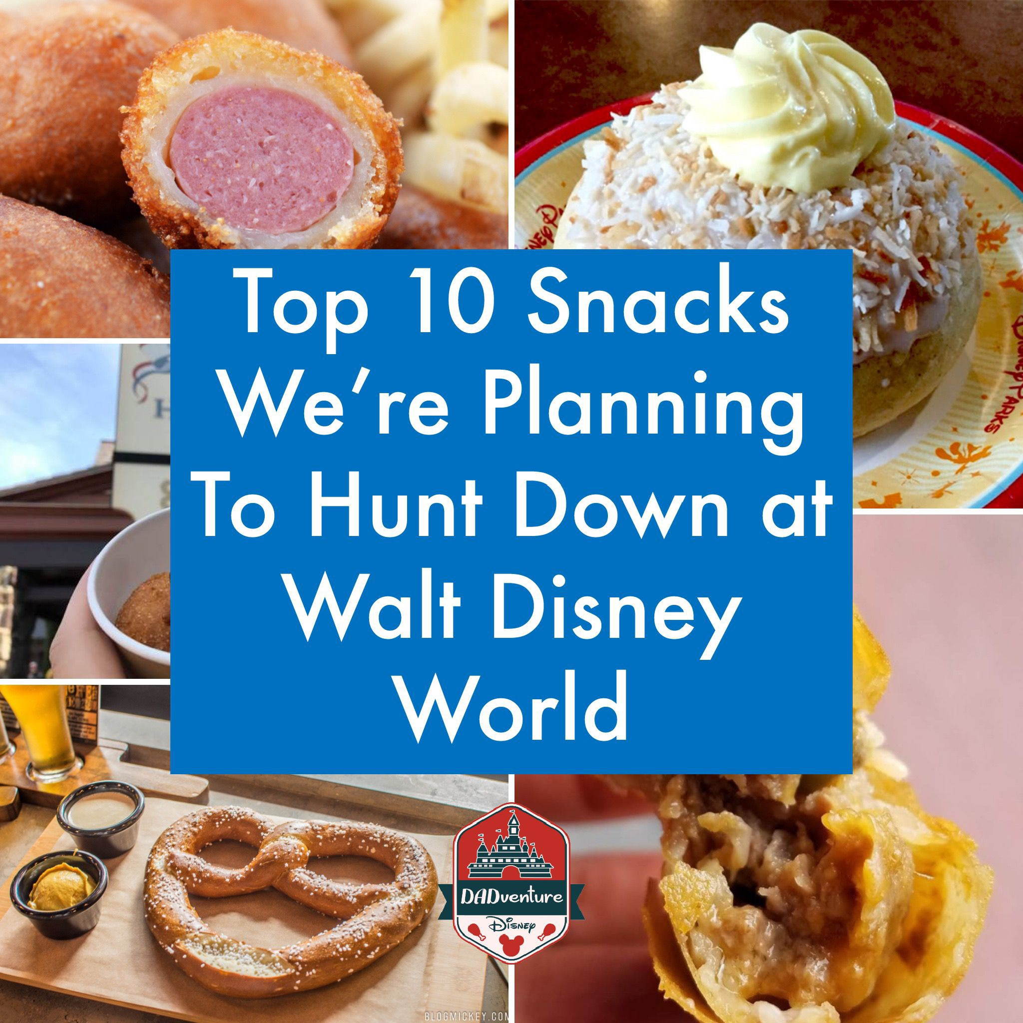 DADventure Disney – My Top 10 Favorite Snacks I'm Excited To Find at Walt Disney World