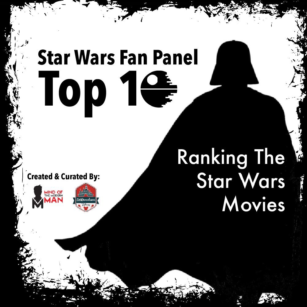 MindofModernMan Star Wars Fan Panel – Favorite Star Wars Movie Rankings